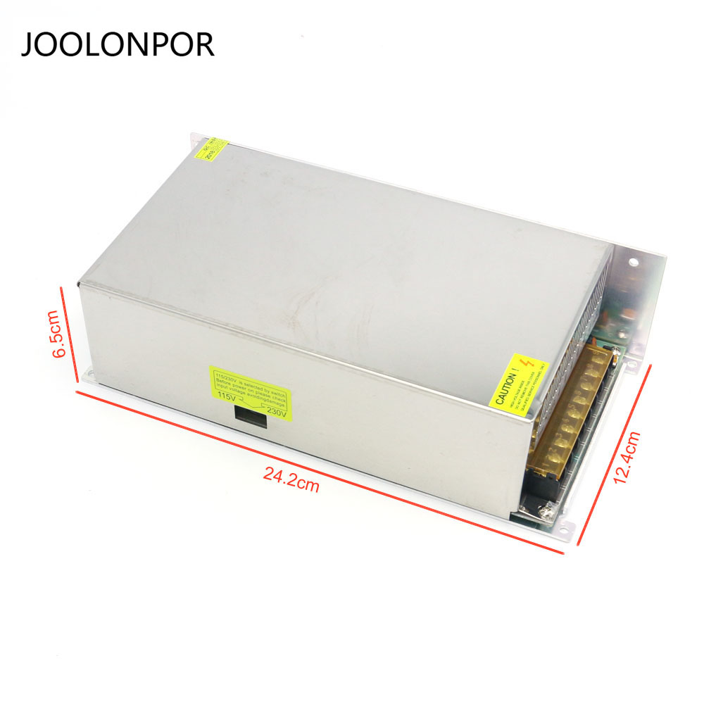 High Power 12V Dc Voltage Switching Power Supply 600W Dc Transformer Light Strip Driver Power SupplyHigh Power 12V Dc Voltage Switching Power Supply 600W Dc Transformer Light Strip Driver Power Supply