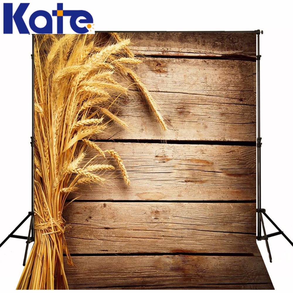 Photography Backdrops Wheat Pastoral Style Wood Brick Wall Backgrounds For Photo Studio Ntzc-035 300cm 200cm 7ft 10ft classic wood photography background woodvintage photo propsbackdrop photo ntzc 033