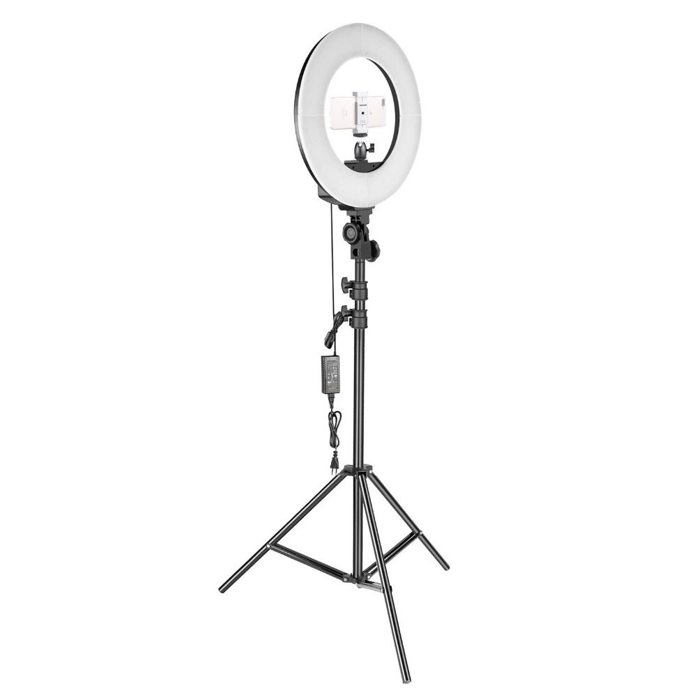 Ring Light Stand Ireland: Neewer 14 Inches Ring Light With Stand Kit Bi Color 36W