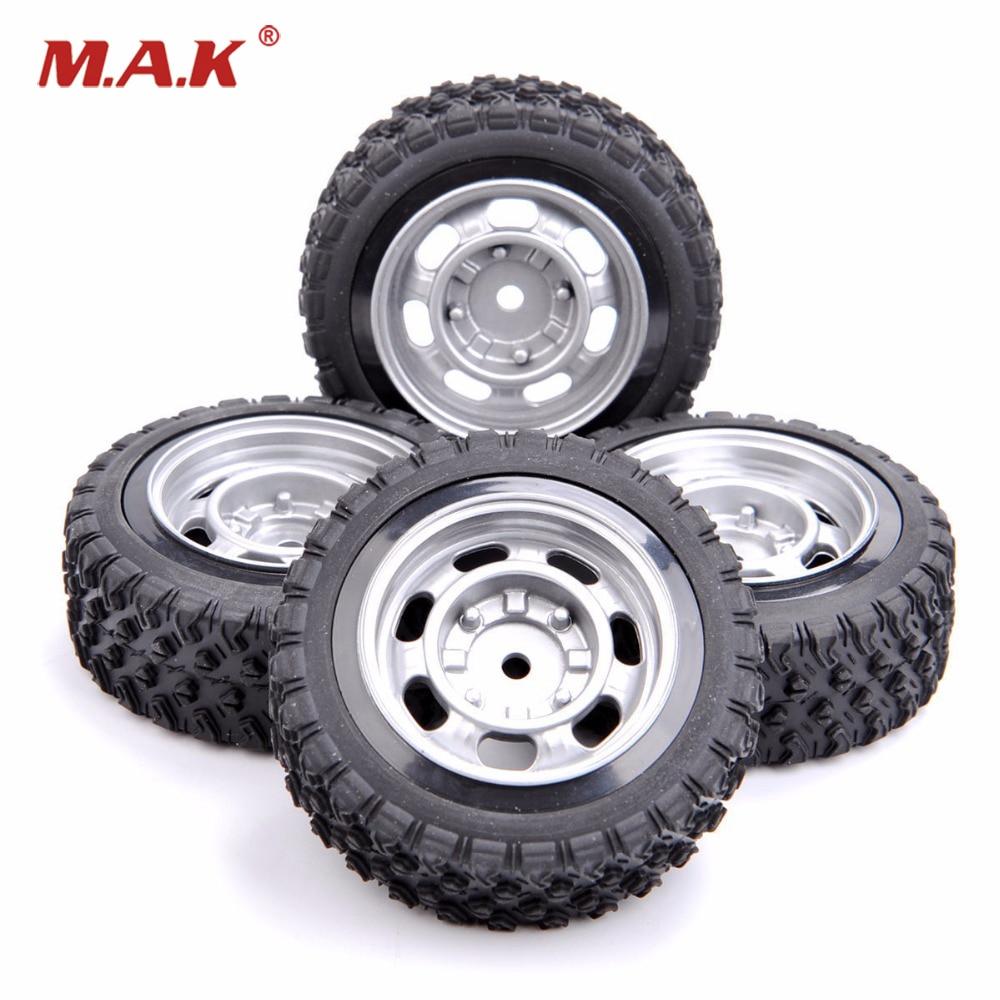 4PCS/set  12mm Hex 1:10 Rally Rubber Tires Wheel Rim 11083 For HSP HPI RC Car 4pcs rubber rc racing tires car on road wheel rim fit for hsp hpi 1 10 high quality rc car part diameter 68mm tires