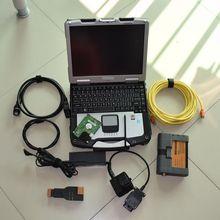 2017 para bmw icom a2 bc con cf30 laptop software 500 gb modo experto hdd ista herramienta de diagnóstico para bmw obd cable listo para uso