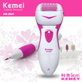 T001 kemei electric dead hard skin exfoliator callus remover foot care tool smooth pedicure nail grinding machine foot massager