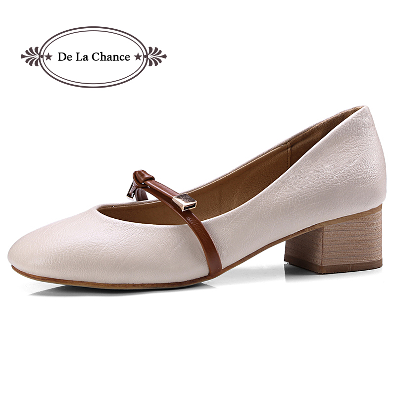Women Med Heel Pump Ladies Single Office Work Career Spring Fall Shoes Bridal Wedding Shoes Thick Heels Footwear Plus Size 34-43Women Med Heel Pump Ladies Single Office Work Career Spring Fall Shoes Bridal Wedding Shoes Thick Heels Footwear Plus Size 34-43