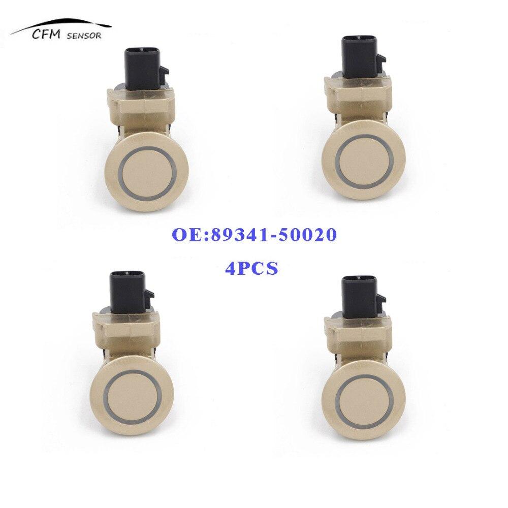 4 pièces nouvelle marque PDC 89341-50020 capteur de stationnement à ultrasons objet de sauvegarde pour LEXUS LS430 4.3L
