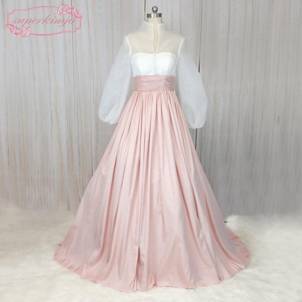 SuperKimJo 1950 s Prom Kleider Langarm Vintage Rosa ...