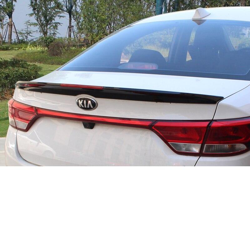 2019 Kia Rio Sedan: Lsrtw2017 Abs Car Tail Spioler For Kia Rio 2011 2012 2013