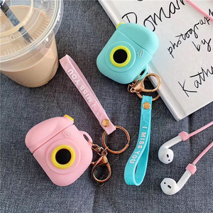 Image 5 - Cartoon Wireless Bluetooth Earphone Case For Apple AirPods Silicone Charging Headphones Cases For Airpods Protective Cover