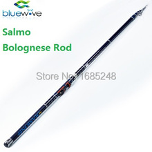 4m,5m,6m Salmo Brand 30T High Carbon Bolognese Rods. Telescopic Bolo Rod, Fishing Rods. Salmo Brand. Pesca.