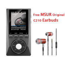 2016 Newest XDUOO X10 Portable HD HIFI DSD Music Player 192KHz/24bit DAP Support Optical Output MP3 Player with Free Earbuds