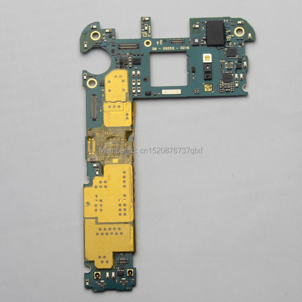 Main Motherboard Unlocked For Samsung Galaxy S6 Edge G925S (Korean board)32GBMain Motherboard Unlocked For Samsung Galaxy S6 Edge G925S (Korean board)32GB