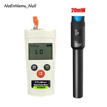 2 In 1 Fiber Optic FTTH Tool Kit Mini Optical Power Meter -70~+6dBm OPM and 20mW Visual Fault Locator Fiber optic test pen VFL