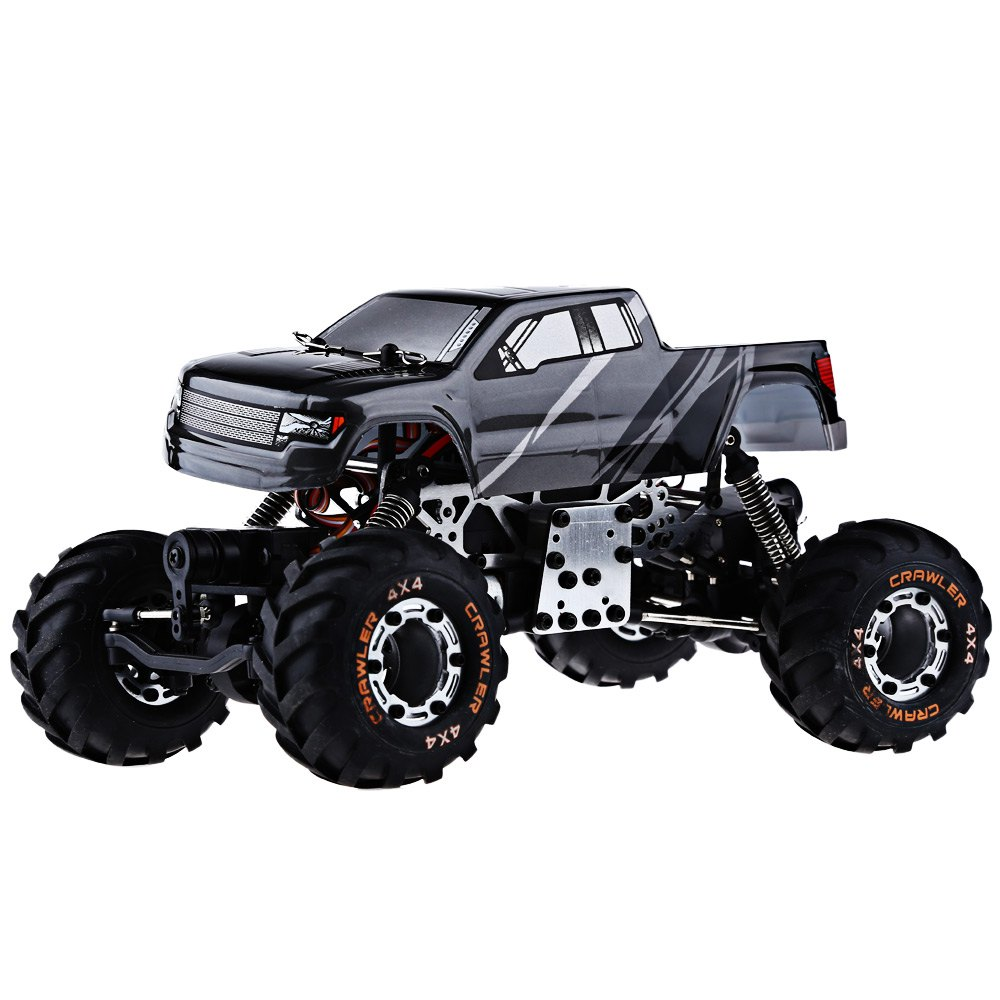 metal chassis rc car 4wd 124 hbx 2098b 4 wheel drive radio control car