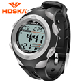 Marca HOSKA relojes de los niños Kids reloj digital reloj estudiante niñas digital-reloj de Cuarzo deporte al aire libre impermeables h012