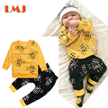 1-3Yrs Kids Suits 2pcs/lot Boys Clothes New 2016 Children Clothing Sets Brand Cotoon Baby Boys Girls Suits Girls Clothes