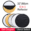 Ulanzi 80cm 32 Round Photography Reflector 5 In 1 Collapsible Multi Disc Studio Light Reflector With