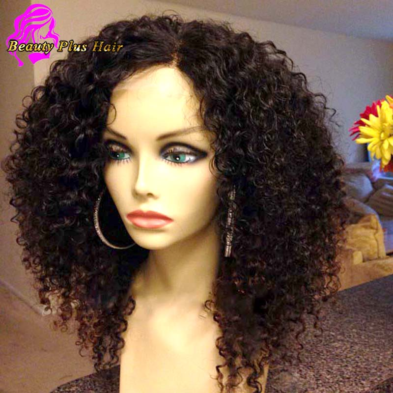 7A Full Lace Human Hair Wigs For Black Women
