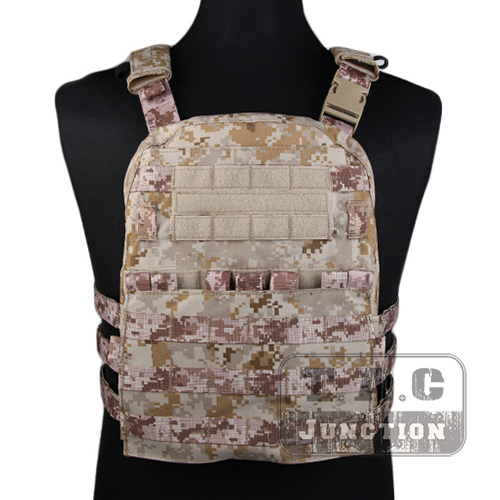 Emerson Tactical Adaptive Vest AVS Plate Carrier Assault MOLLE Lightweight Body Armor 3 Band Skeletal Cummerbund AOR1