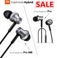 100% original xiaomi mi in-ear auriculares pro hd círculo de hierro cable xiaomi xiaomi hybrid pro hd auriculares auriculares con cancelación de ruido
