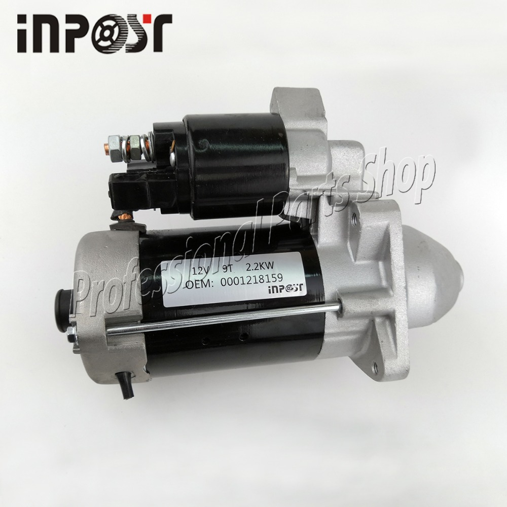 New Starter 2.2KW For Motor FIAT  0001218159 0986017020 0001218759