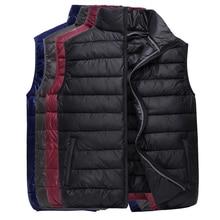 2018 men warm cotton feather waistcoat qiu dong outfit warm vest
