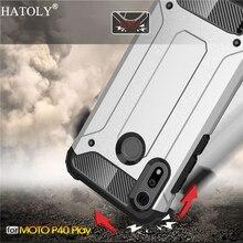 For Motorola Moto P40 Play Case Silicone Rubber Armor Shell Hard Phone Cover For Motorola Moto P40 Play Case For Moto P40 Play