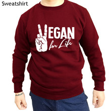 Vegan for life sweatshirt