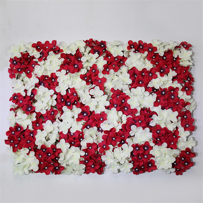 Keythemelife 10PCS Flower Wall Artificial Silk Flower Beautiful Wedding Background Lawn Pillar Road Lead Petal Wedding Decor C3