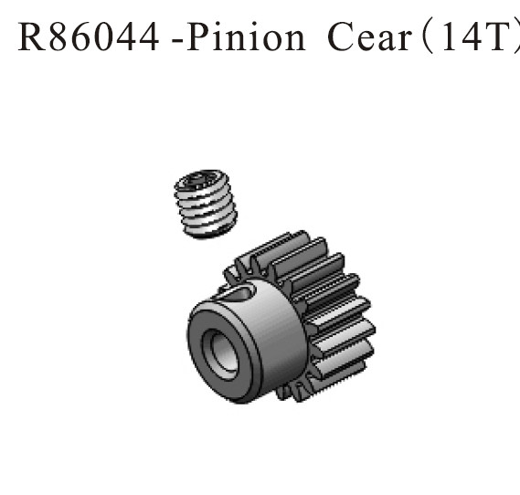 RC R86077 Motor RC540 20T Fit RGT 1//10TH Rock Cruiser 86100 Crawler