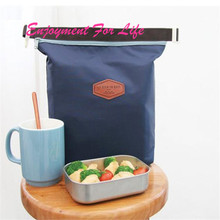 Waterproof Food Storage Tote Portable Insulated Pouch Cooler  2016 High Quality ForStorage Bag Navy  Free Shipping Nov 10