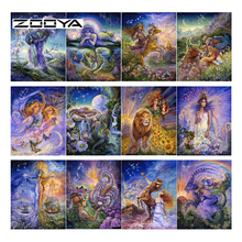 ZOOYA Diamond Embroidery Full Square Diamond Painting 12 Myth Constellation DIY Pattern Rhinestones Mosaic Home Decoration SF372