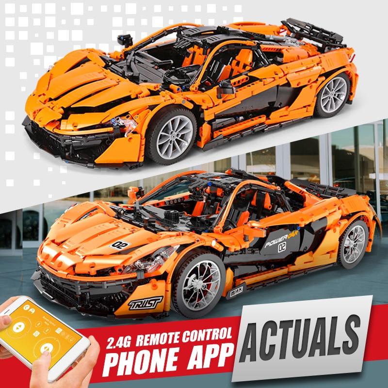 DHL 20087 Technic Car Compatible With New MOC 16915 McLaren P1 Speed Car Set Building Blocks