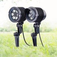 6x1W Outdoor Garden Landscape Light 220V 110V 12V LED Lawn Lamp Waterproof Lighting Led Garden Path Spotlights led spike Light