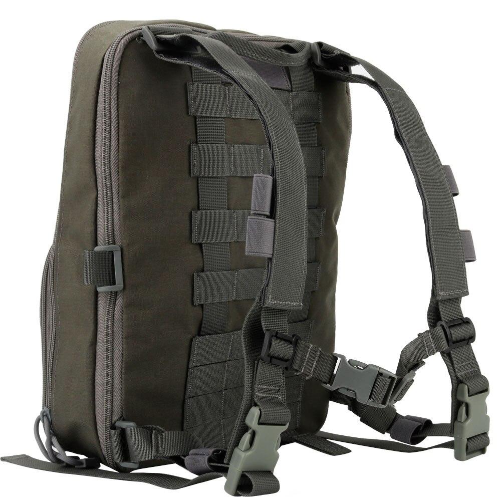Тактический рюкзак камуфляжная Сумка военный рюкзак сумка переменной емкости для спорта кемпинга Пешие прогулки Рыбалка Охота - 6