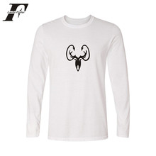 LUCKYFRIDAYF Game of Thrones 4xl White T Shirt Women Long Sleeve O Neck Casual Tops with