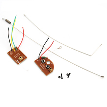 Remote Transmitter Receiver  Board 2CH 27MHZ with Antenna for DIY RC Car Robot F20393