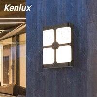 플라스틱 옥외 Led 벽 빛 18W 플라스틱 방수 에너지 절약 실내 포치 LED 벽 램프 정원 침실 통로 장식 빛