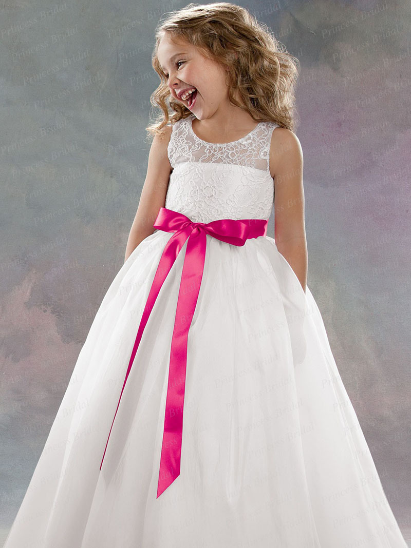 Long Flower Girls Dresses For Wedding Gowns Ankle-Length Mother Daughter Dresses Lace First Communion Dresses for Girls цены онлайн