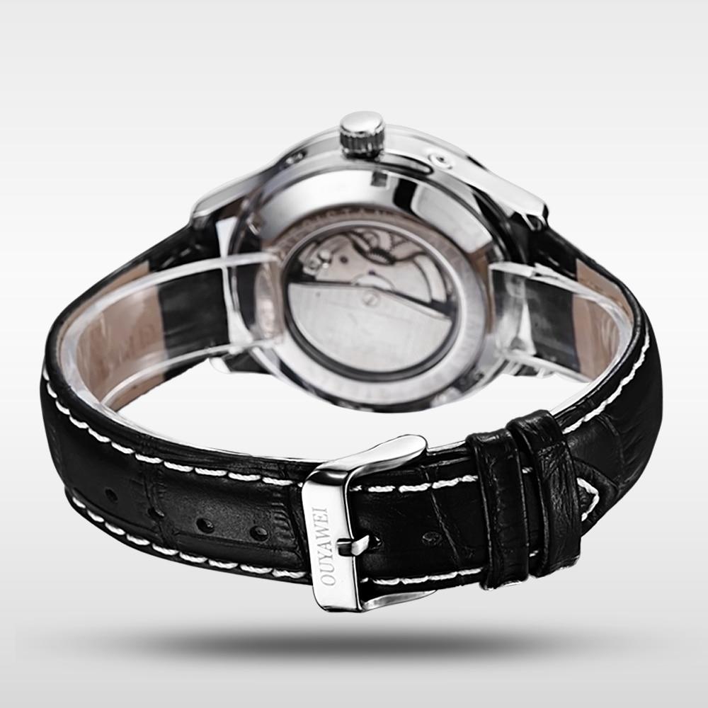 OUYAWEI automaattinen mekaaninen kello vedenpitävä miesten liike - Miesten kellot - Valokuva 5