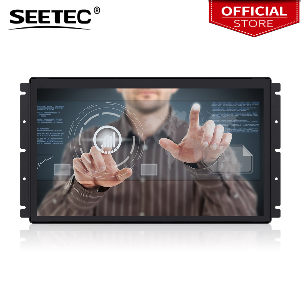 Seetec PF173 9CT 17 3 Inch 1920x1080 Open Frame Monitor 17 3 Projected Capacitive 10 Point