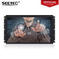 Seetec PF173 9CT 17.3 Inch 1920x1080 Open Frame Monitor 17.3 Projected Capacitive 10 Point Touch LCD Industrial Monitor
