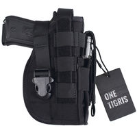 OneTigris Tactical Gun Holster Molle Modular Pistol Holster With Mag Pouch For Right Handed Shooters 1911