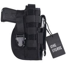 OneTigris Funda de Pistola Táctica Molle Modular Pistolera de la Pistola para Right Handed Shooters 1911 45 92 96 Glock