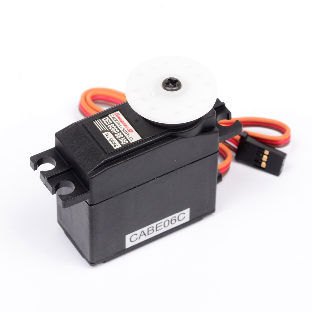 Graupner DES 806P BBMG Torque Coreless 19.5mm Digital Servo Digital Micro Servos RC Helicopter Airplane 1pcs jx pdi 6221mg 20kg large torque digital coreless servo for rc car crawler rc boat helicopter rc model