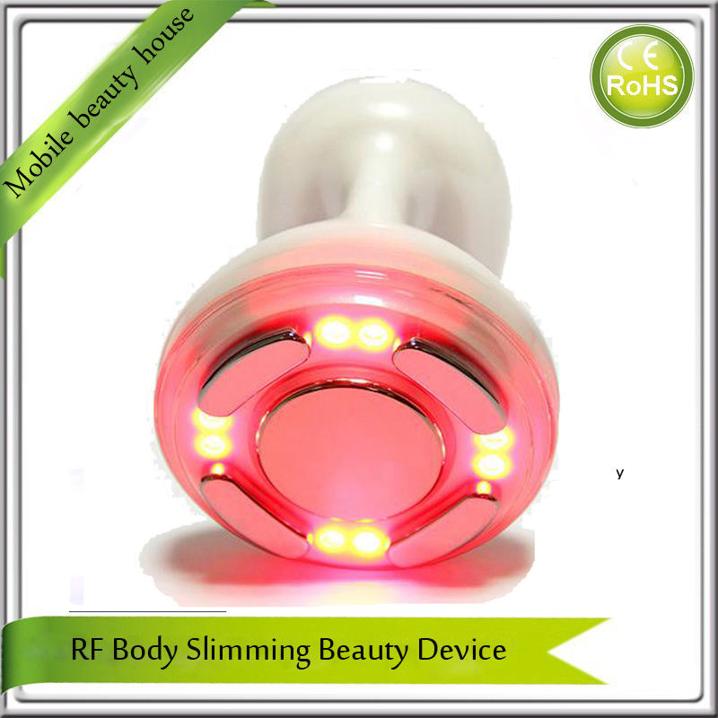 Home Use Beauty Spa Portable RF Cavitation Body Beauty Slimming Device Rechargeable DHL Free Shipping kingdom kd 9900 ems rf electroporation beauty device