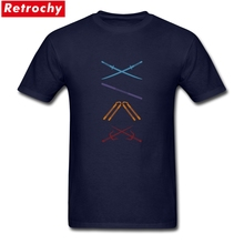 2019 Summer Leisure Men Graphic Logo Arrow Tshirt Custom Short Sleeve Cotton T