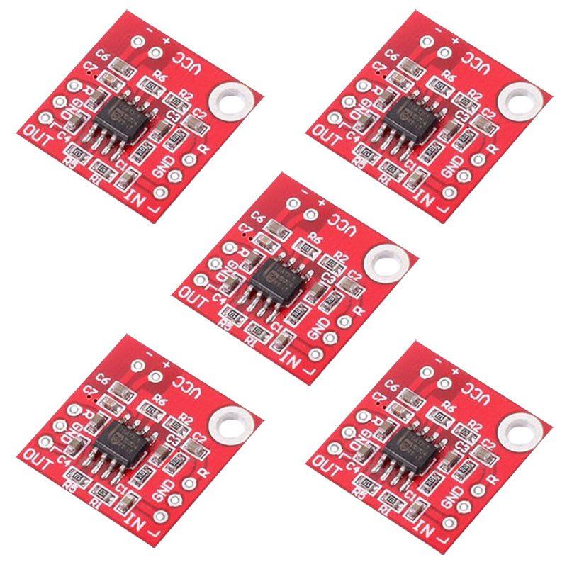 5Pcs TDA1308 Headphone Amplifier Board 3V-6V Amp Preamplifier Module For Arduino