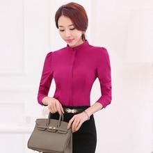 spring autumn Long-sleeved Shirt blouses
