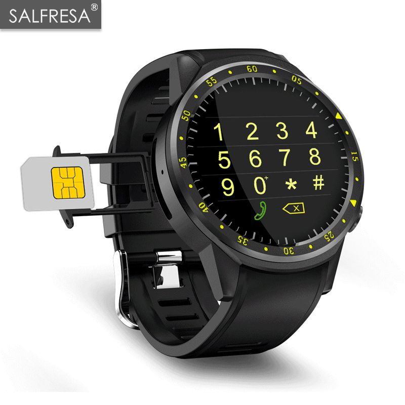 Sport Smart Watch SALFRESA F1 With GPS Camera Support Stopwatch Bluetooth Smartwatches SIM Card Wristwatch for Android IOS PhoneSport Smart Watch SALFRESA F1 With GPS Camera Support Stopwatch Bluetooth Smartwatches SIM Card Wristwatch for Android IOS Phone