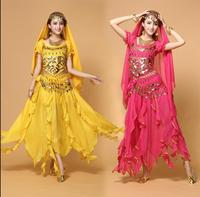 2018 Belly Dance Costume Female Indian Dance Dress Sexy Women Bollydancer Wear Bollywood Dance Plus Size