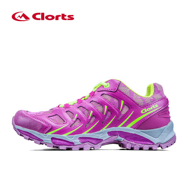 a8ab36373a825 Clorts transpirable zapatos para correr para mujer ligero mujer zapatillas deportivas  trail running shoes pu malla